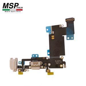 Flat con Connettore Ricarica + Jack Audio e Microfono (bianco) Apple iPhone 6sp