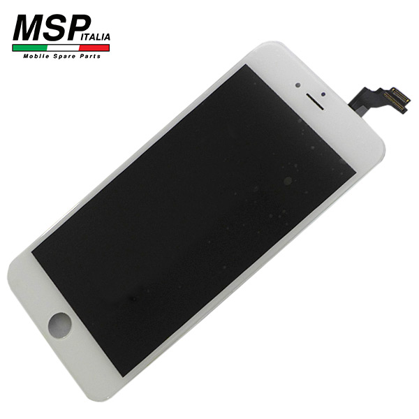 Schermo / Display LCD Vetro Touch Screen Best Quality Apple iPhone 6p (bianco / white)