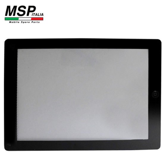 Vetro Touch Screen con Tasto Home Best Quality Apple iPad 2 (nero / black)