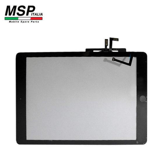 Vetro Touch Screen con Tasto Home Best Quality Apple iPad Air (nero / black)