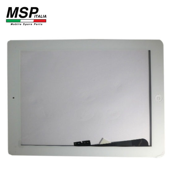Vetro Touch Screen con Tasto Home Best Quality Apple iPad 4th Generation (bianco / white)