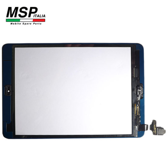 Vetro Touch Screen con Tasto Home Best Quality Apple iPad Mini (nero / black)