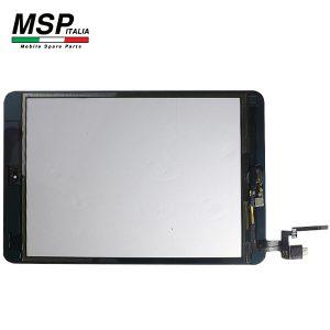 Vetro Touch Screen con Tasto Home Best Quality Apple iPad Mini 3 (nero / black)