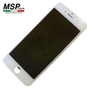 Display LCD Vetro touch screen iPhone 7 bianco
