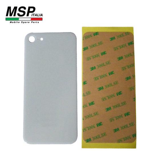 Vetro posteriore bianco iPhone 8